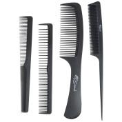 Strands Professional Hair Cutting Carbon Kit 4pcs