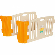 Friendly Toys Little Playzone Double Extension Kit, Beige