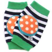Bella Tunno Happy Knees Baby Knee Pads, Tangerine Twist