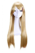 67cm Long Butterscotch Blonde Alice Straight Cosplay Wig Cw174