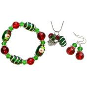 Holiday Bead Kit-Christmas - Red & Green