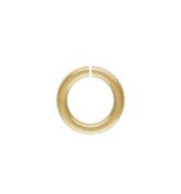 14k Gold Filled 18ga 5mm Open Jump Rings 10pcs