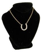 New Black Velvet Necklace Jewellery Display Busts 6.7cm