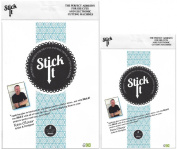 Stick It Adhesive Sheets Bundle with Large and Handy Size