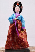 "Korean Doll - Korean toy- 30cm/12"" tall - Asian Doll - KR014"