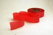 """5/8"""" (15mm) Double Faced Satin Hand dyed silk ribbon woven edge spools - Colour 071 Salmon Pink"""