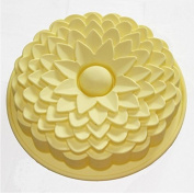 Birthday Cake Silicone Mould Pan Mould Bread Pizza Bakeware Tray 20cm