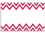 50 pack Red Chevron- No SentimentEnclosure Cards