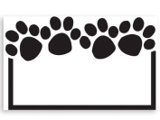 50 pack Paw Print- No SentimentEnclosure Cards