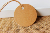500 Pieces Round Label Tie String Price Tag Jewellery Display Tag Tags Dia:4.8cm