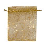H88 - 40 x Candies Sweeties Jewellery Organiser Storage Gift Bags for Wedding Halloween