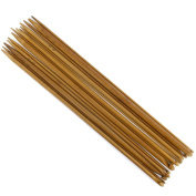 Click Down 14 Sizes Bamboo Crochet Hooks Knitting Needles 3.0-10mm