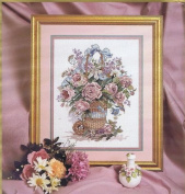 Basket Bouquet Counted Cross Stitch Kit