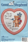 Good Shepherd Golf Diet Counted Cross Stitch Kit 83634