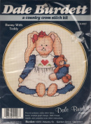 Dale Burdett Bunny With Teddy Country Cross Stitch Kit CK1027