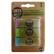 Frontier Natural Products 227821 Erasers, Recycled Rubber
