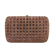 Gucci Women's Broadway Crystal & Suede Evening Clutch Bag 310005
