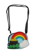 The End of the Rainbow Colourful Crossbody Purse