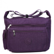 Niktest Womens Solid Colour Sports Packet Canvas Shoulder Bags