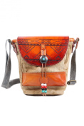 TSD Boho Echo Indian Engrave Pattern Crossbody
