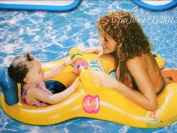 Inflatable Toy Mother & Baby Swim Float Raft Kid Chair Seat Swim Ring Pool Lake