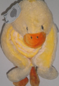 Little Miracles Baby Blanket & Plush Yellow Duck Snuggle Me Sherpa