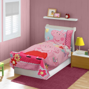 Peppa Pig Adoreable Toddler Bed Set, Pink