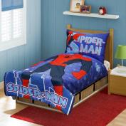Marvel Spiderman I am Spiderman Toddler Bed Set, Multi