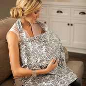 Bebe au Lait Premium Cotton Nursing Cover - Featherwave ()