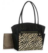 Heidi Klum Zebra Tote Nappy Bag