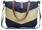 Urban Mom, Stylish Nappy Bag, Tote Style, Chevron Stripe