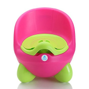 Lil' Jumbl Baby Egg Potty With Cover - Pink