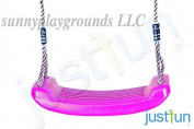 SWING SEAT PINK with FREE ROPE--Outdoor and Indoor Playground Set Accessories For Kids