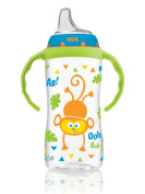 NUK Large Learner Cup, 300ml, Circus Animals Colours Vary