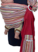 REVERSIBLE ADJUSTABLE baby sling carrier ring sling Multi Colour Strip