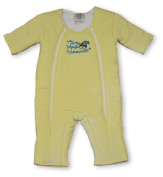 Baby Merlin's Magic Sleepsuit Cotton - Yellow - 6-9 mo