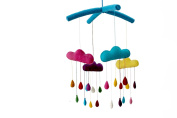 Silk Road Bazaar Mobile, Rainbow Drops/Multicoloured, 0-3 Years
