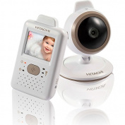 Hitachi Baby Monitor with Night Vision, White