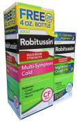 Robitussin CF Max Multi-Symptom 240ml + FREE Max DM Nighttime Cough 120ml