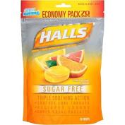 Halls Sugar Free, Citrus Blend Flavour, 70 Ct Package