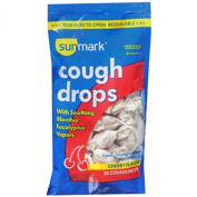 Sunmark Cough Drops - Cherry - 30 ct