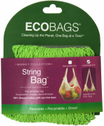 ECOBAGS Market Collection String Bags Long Handle, Lime