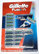 Fusion ProGlide Power Manual Refill Razor Replacement Cartridges 16 Count