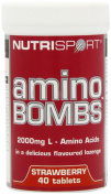 Nutrisport Amino Bombs Strawberry 40 + 40