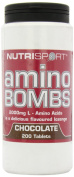 Nutrisport Amino Bombs Chocolate Tablets Pack of 200