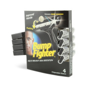 Bump Fighter Mens Disposable Razors, 32 Razors