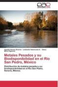 Metales Pesados y Su Biodisponibilidad En El Rio San Pedro, Mexico [Spanish]