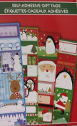 Christmas Sticker Pad of To/From Labels, 52 stickers total! 52 different designs