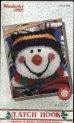 WonderArt by Caron - Latch Hook Kit - 4663 Snowy Snowman