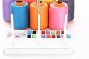 1Pc 3 Embroidery Thread Spool Holder Stand Sew Quilting for Home Sewing Machine